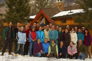 Winter meditation retreat canada