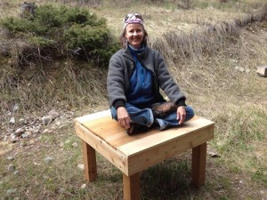 Building Outdoor Meditation Platform