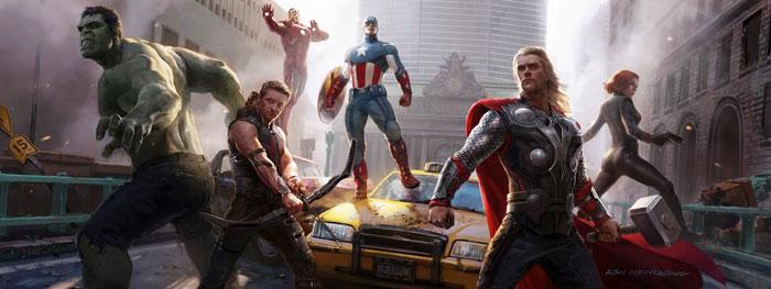 Avengers by-marvelourRoland-(Flickr)