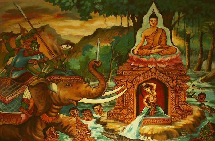 Hero's Journey Buddhism Mara