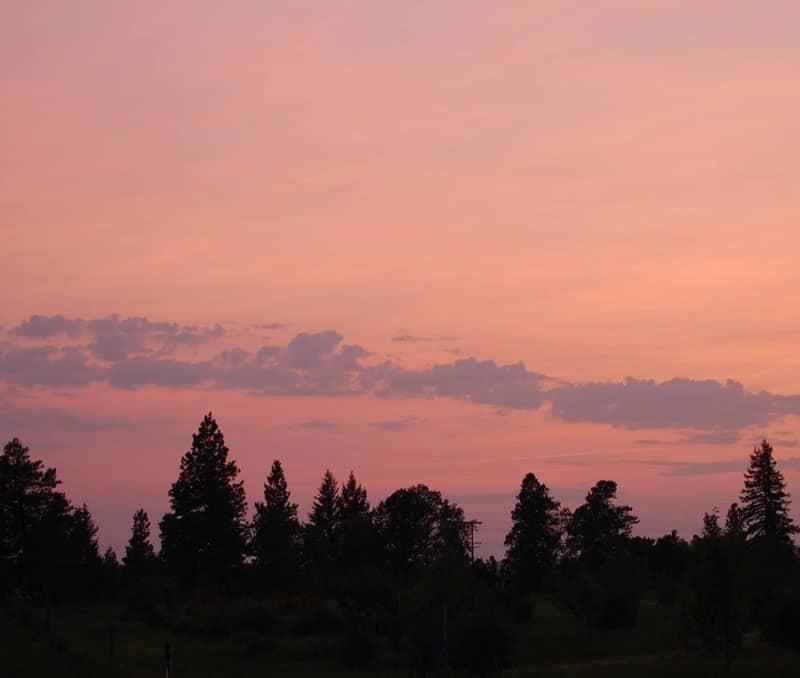 Retreat Centre Meditation Sunset