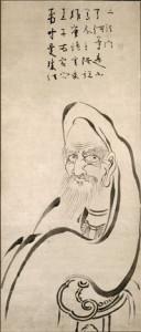 Image: Vimalakirti, by Hakuin Ekaku, ink on paper, 127 x 69.3 cm. Minneapolis Museum of Art