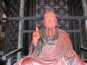 6-02 red Chinese man statue closeup2