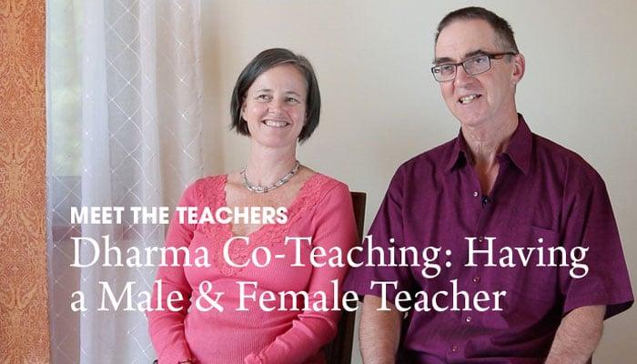 Video: Dharma Co-Teaching – Having a Male & Female Teacher