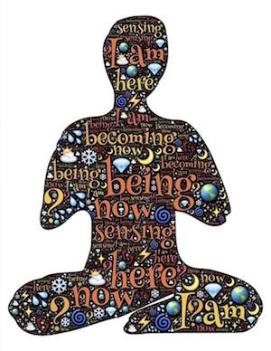 Meditator Cutout