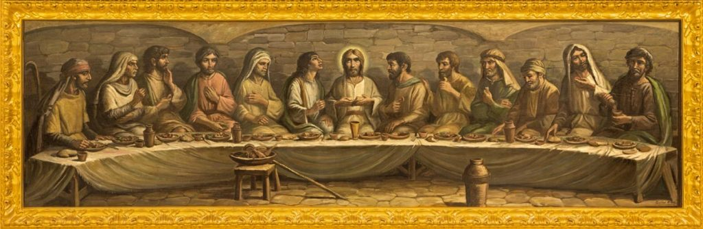 Last Supper Christian Spiritual Awakening