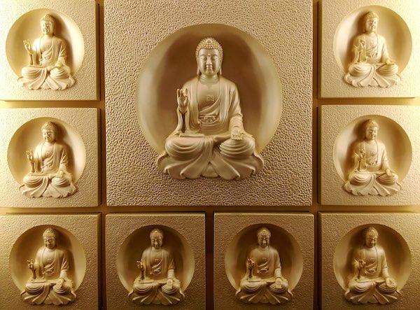 sixteen buddha body practice