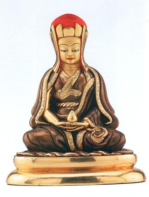 Gampopa jewel ornament