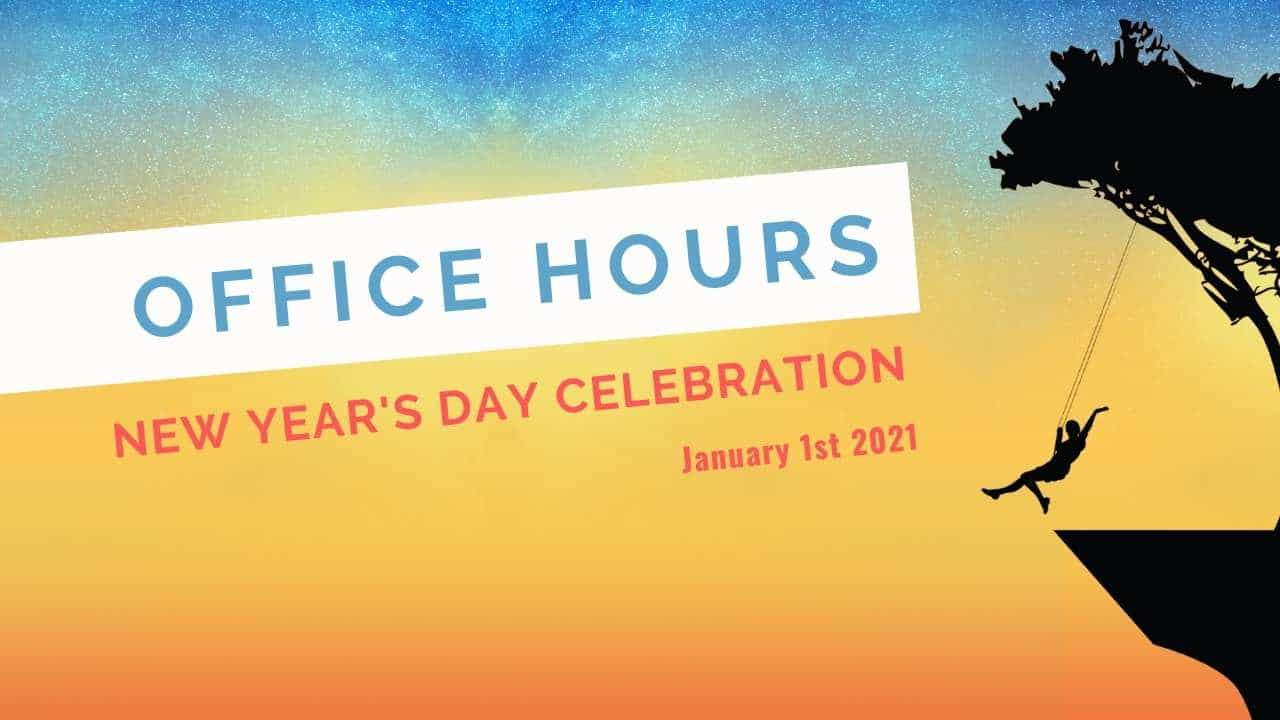 office hours new years day