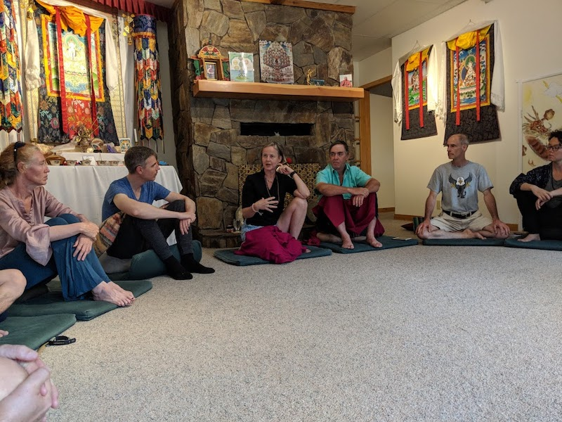 meditation teachers group