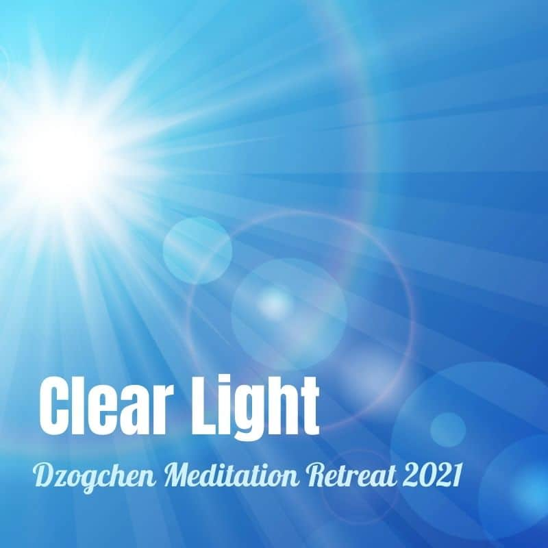 Clear Light Retreat UK Event Page